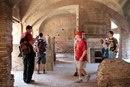 члены клуба Legio V Macedonica в Остии во время