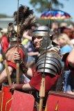 Римский легионер в строю
