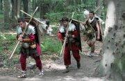 Наши легионеры на марше