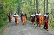 Легионеры на лесной дороге