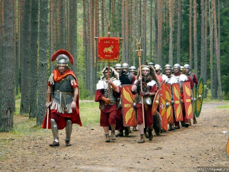 Реконструкция античности и римского легиона i-ii в нэ