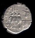 Auxiliary Units FIDES EXERC (Denarius of Commodus)