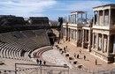 Римский амфитеатр в городе Мерида, Испания