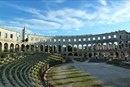 Римский амфитеатр в городе Пула, Хорватия