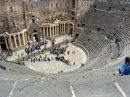 Римский амфитеатр в городе Босра, Сирия