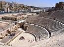 Римский амфитеатр в городе Амман, Иордания