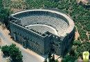Римский амфитеатр в городе Аспендос, Турция
