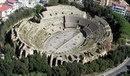 Римский амфитеатр в городе Поццуоли, Италия