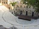 Римский амфитеатр Одеон в городе Афины, Греция