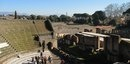 Римский амфитеатр в городе Помпеи, Италия