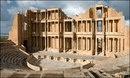 Римский амфитеатр в городе Сабрата, Ливия