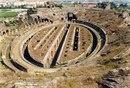 Римский амфитеатр в городе Капуя, Италия