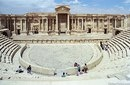 Римский амфитеатр в городе Пальмира, Сирия