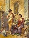 Внутри римской виллы