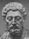 Бюст Марка Аврелия. Мрамор. 170—180-е гг. Рим,