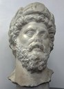 Портрет Марка Аврелия из Петры. Мрамор.