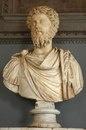 Марк Аврелий. Мрамор. 161—180 гг. Инв. № MC448. Рим,
