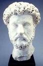 Голова Марка Аврелия. Мрамор. Ок. 160—170 гг. Сидар-Рапидс