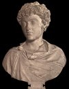 Марк Аврелий в молодом возрасте. Мрамор.