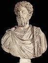 Марк Аврелий в зрелом возрасте. Мрамор.