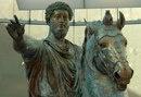 Конная статуя Марка Аврелия. Деталь. Бронза.