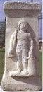 Надгробие гладиатора Никефороса. Археологический музей, Гиераполь
