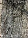 Вотивное изображение гладиатора, Филиппи, Греция.