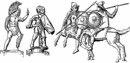 Статуэтки мирмиллона и гопломаха, Сен-Жерменский