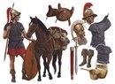 Римский эквит (кавалерист) времен Республики.