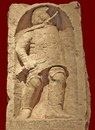 Надгробие гладиатора - фракийца Алкеида