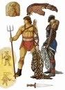 Вооружение ретиария и древнеримские изображения.