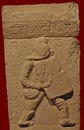 Надгробие гладиатора - фракийца на кладбище