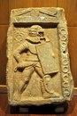 Надгробие гладиатора - провокатора на кладбище