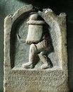 Надгробная стела гладиатора фракийского