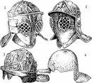 Гладиаторские шлемы, тип I. 1 - Помпеи (Национальный