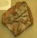Фрагмент терракотового рельефа, показывающий