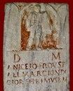 Надгробие гладиатора - провокатора Аницетия