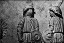 Рельеф, показывающий римских гладиаторов,