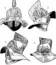 Гладиаторские шлемы, тип III B. 1 - Помпеи (Национальный
