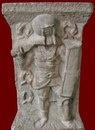 Мраморное надгробие гладиатора - провокатора