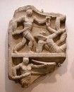 Римский рельеф, изображающий бой секутора