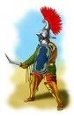 Гладиатор - фракиец.