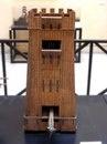 Масштабная модель (1:10) осадной башни. Инв. № MCR 895.