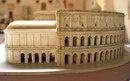 Гипсовая модель театра Марцелла в масштабе