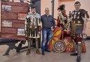 Стенд клуба Legio V Macedonica