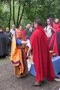 Римская свадьба. Жених и невеста произносят клятву.