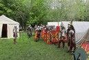 5-й Македонский легион собирается на построение.