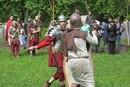Поединок римлянина с варваром.
