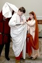 Дворец бракосочетания № 1.Римская свадьба. 2008г