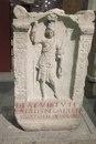 Алтарь римской богини Виртус (Виртуты) в одежде амазонки. 3 в. н.э.